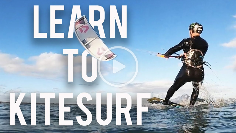 TOm Court  - Learning to KITESURF and NIGHT SURFING with Sam Pilgrim