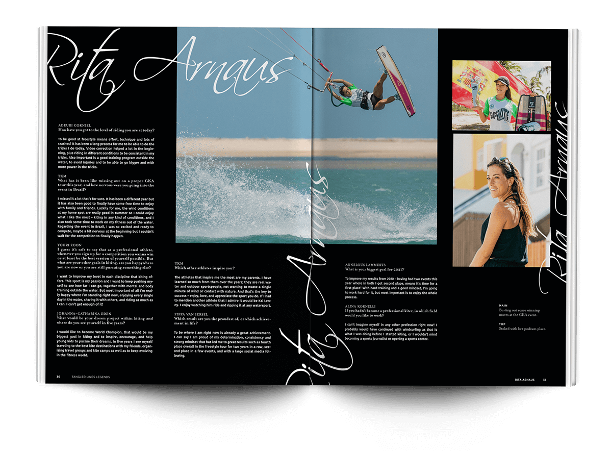 Tangled Lines - THEKITEMAG ISSUE #40