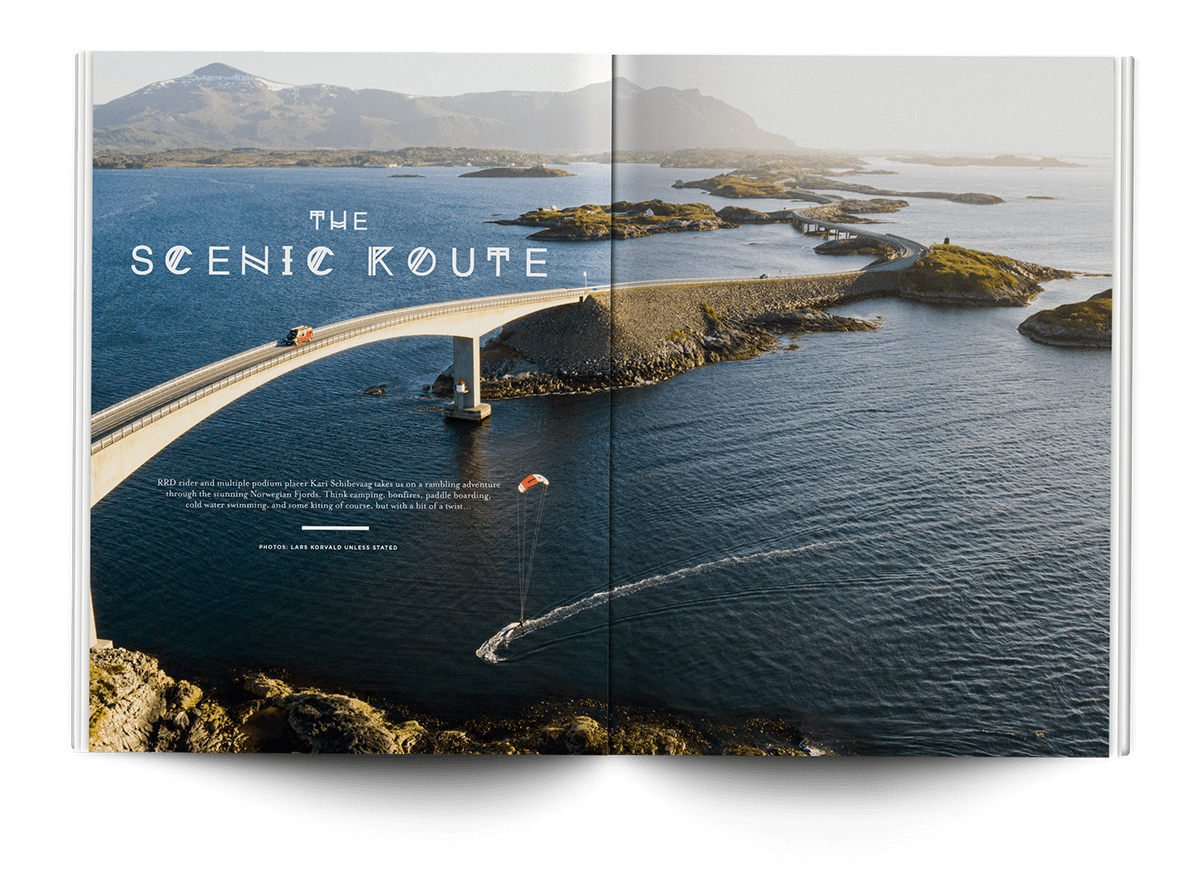 The Scenic Route - THEKITEMAG ISSUE #40