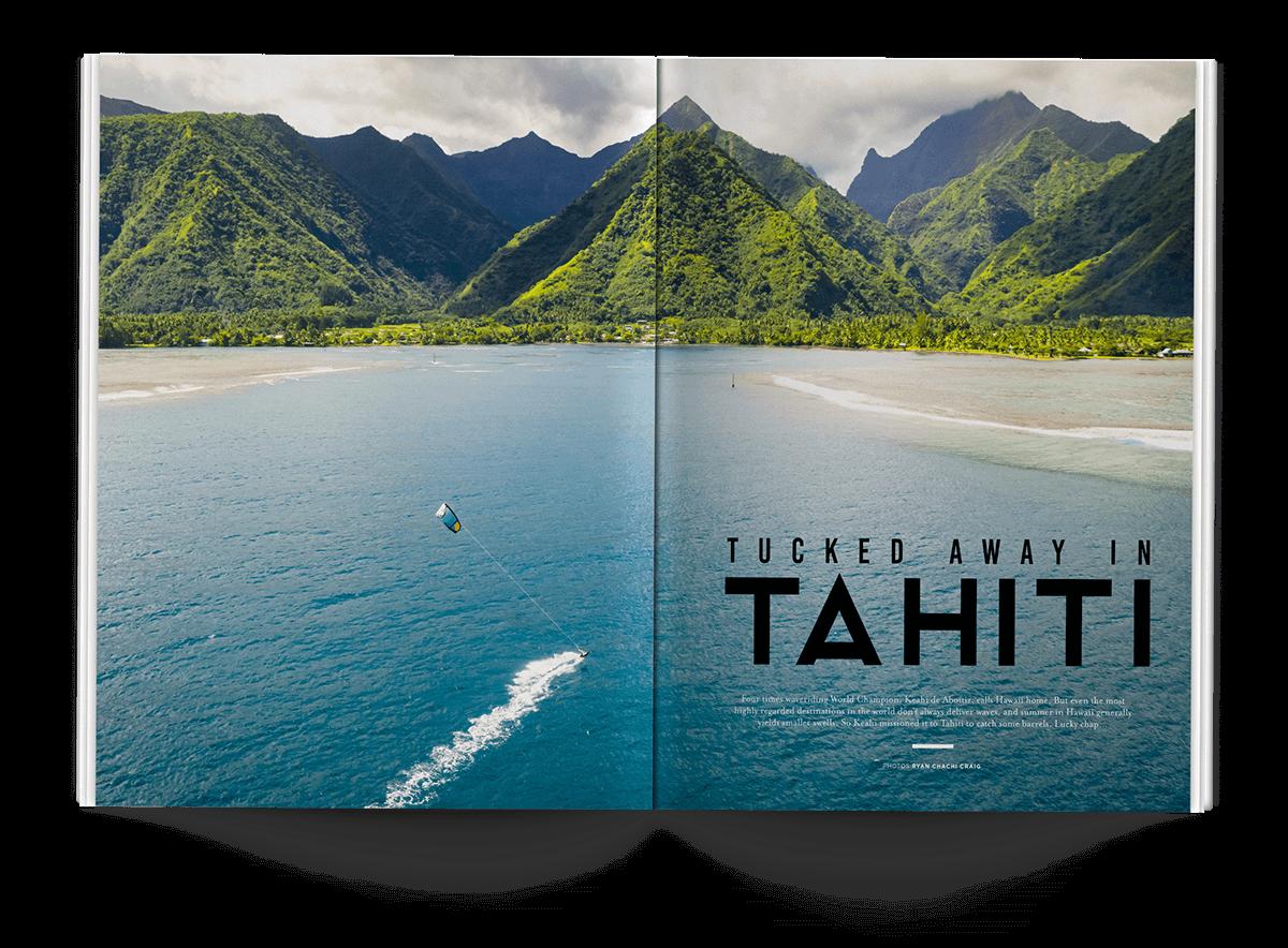 Tucked Away in Tahiti - THEKITEMAG ISSUE #40