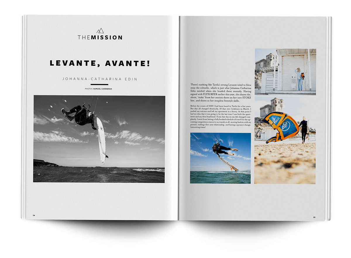 feature spreads - THEKITEMAG ISSUE #40