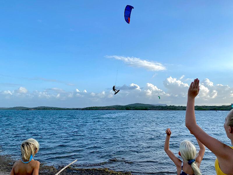Finishing the wind at the main spot St. Jorisbaai - Yndeleau EP 05: Curacao