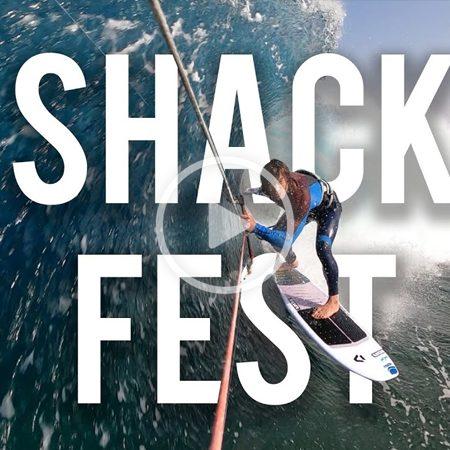 Shack Fest 450x450 - Tom Court kitesurfing Christmas BARRELS!!