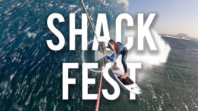 Shack Fest - Tom Court kitesurfing Christmas BARRELS!!