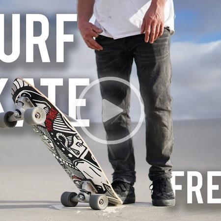 SurfSkate 450x450 - Court In The Act - KITE & CARVER SKATE freeride!