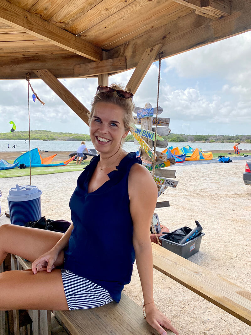 Suus is not allowed to kite for a while - Yndeleau EP 05: Curacao