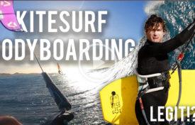 Kite bodyboarding 275x176 - BODYBOARD Kitesurfing