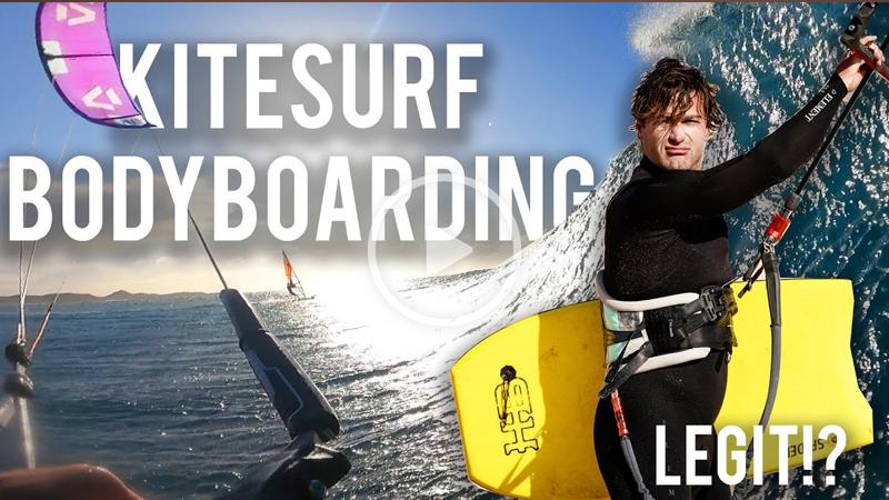 Kite bodyboarding - BODYBOARD Kitesurfing