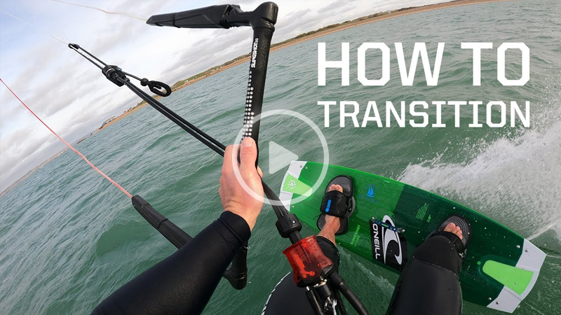 how to transition - How to turn around / transition kitesurfing