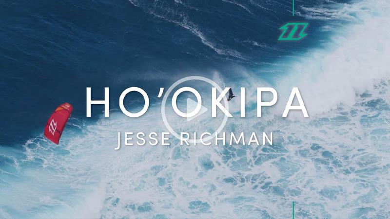 jesse north - Jesse Richman Kitesurfing Big Waves at Ho'okipa