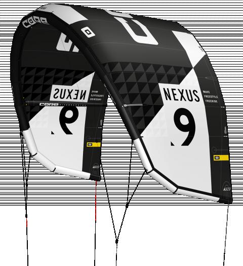 CORE Kiteboarding Nexus 2 cutout black 1200 480x525 1 - CORE NEXUS 2