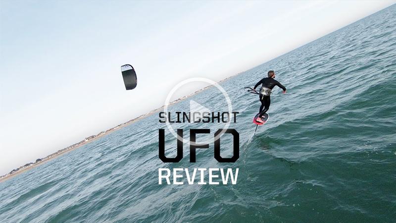 UFO - Sam Light's new fav foil kite
