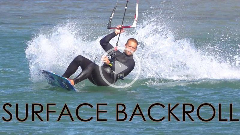 surface backroll - Surface Backroll Transition (Twintip Tack)
