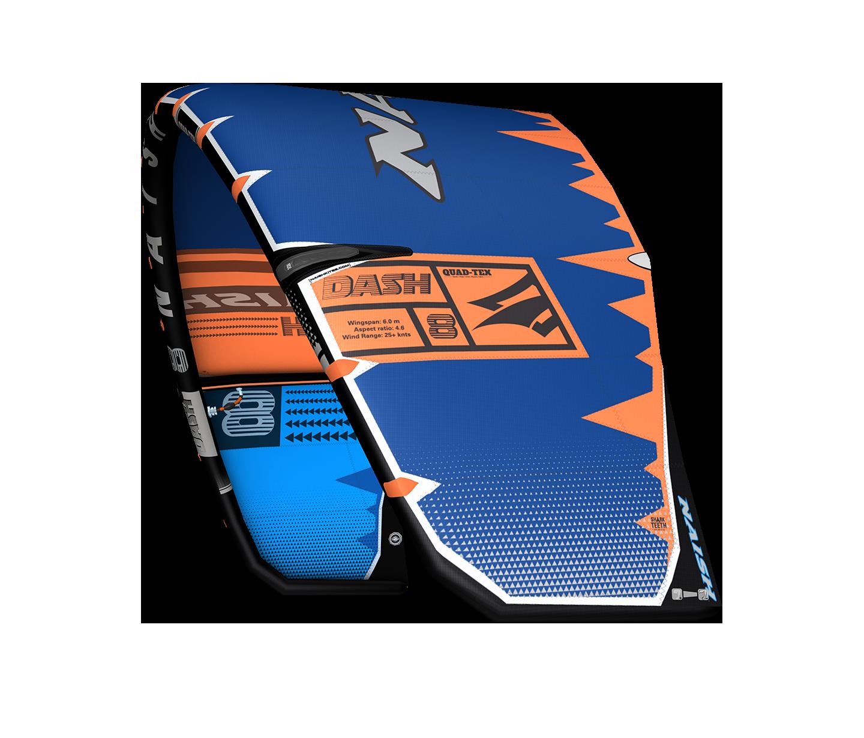 2020 21KB Dash Blue Orange Grey LeftAngle LoRes RGB - NAISH DASH LE