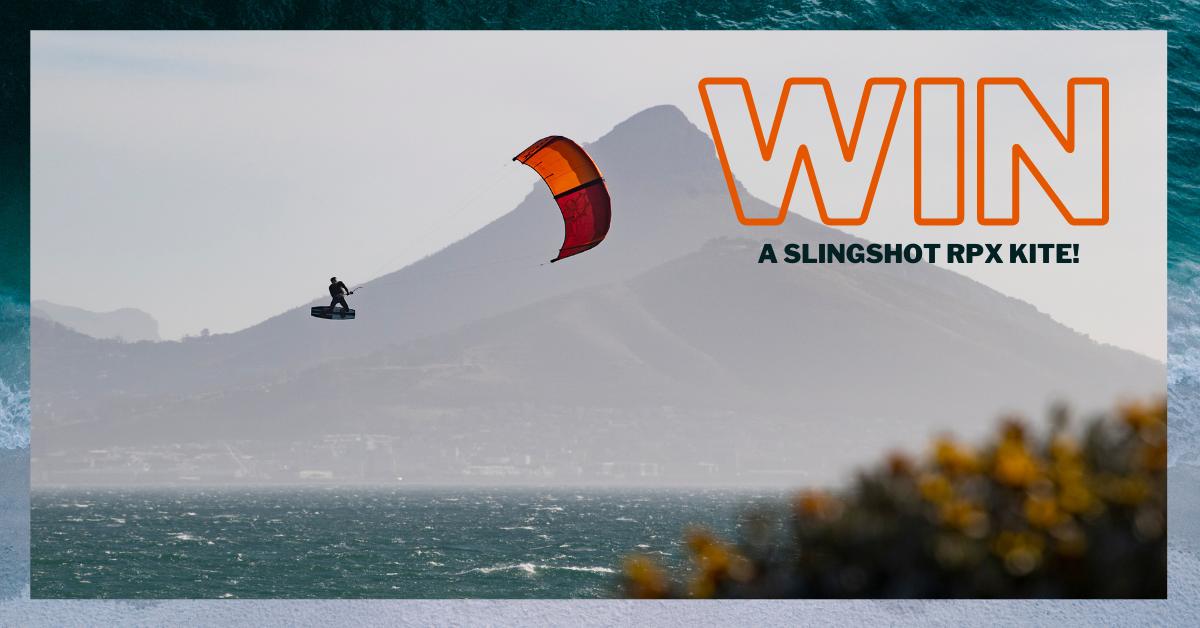 5 - Slingshot RPX v1 kite plus bar giveaway