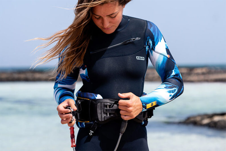 ION harness and wetsuit 795x530 - ION's Ambient Sea Capsule Collection