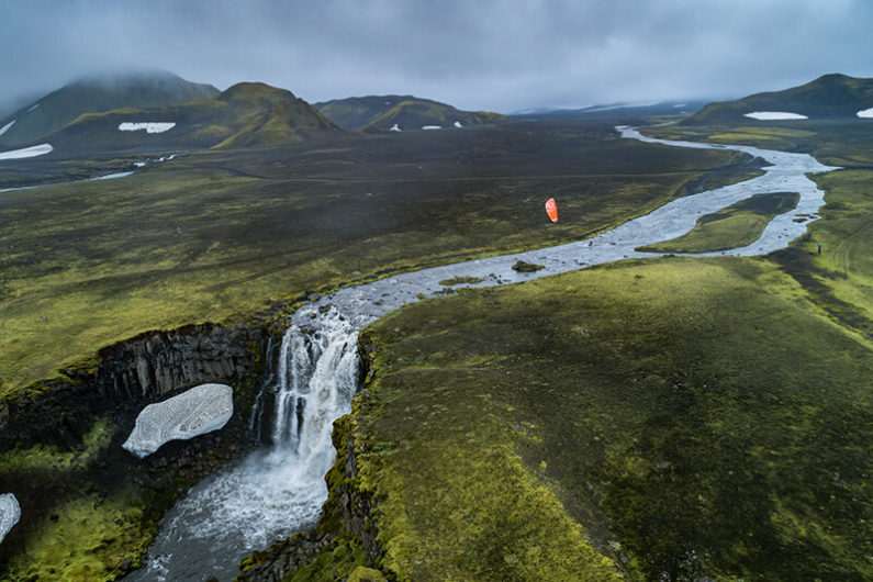 Roderick river 795x530 - Kiting in an Icelandic volcano...
