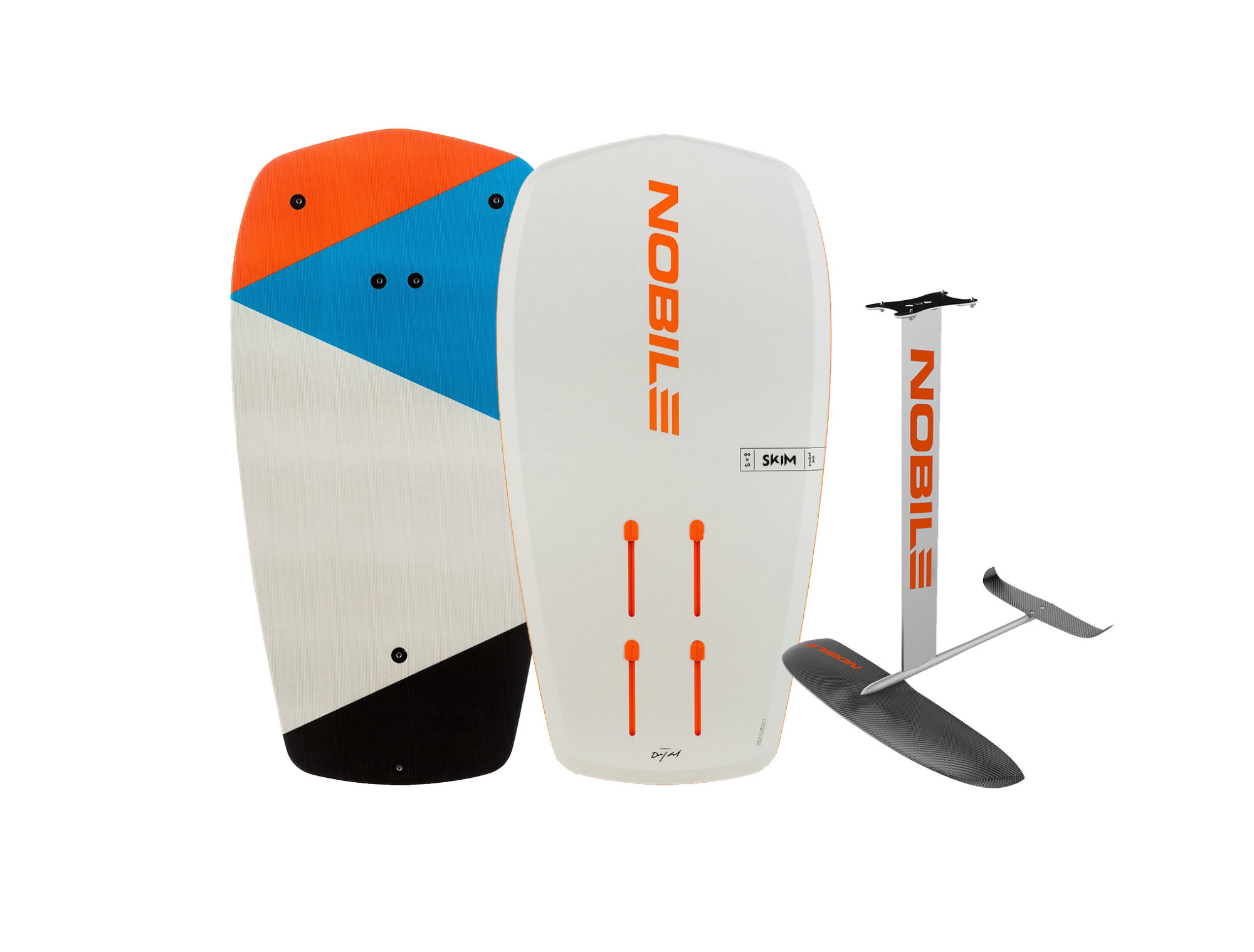 Noblie Pocket Skim front 1 scaled - NOBILE ZEN CARBON SURF FOIL 1000 AND POCKET SKIM FOIL