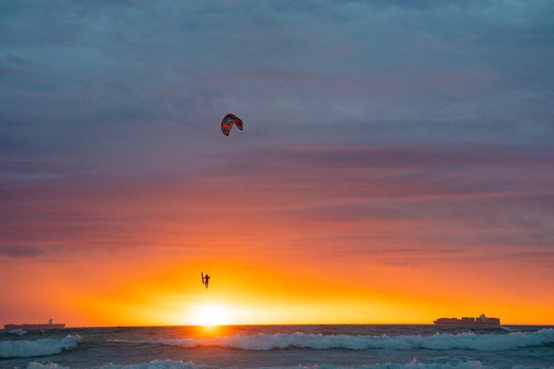 Flysurfer Stoke Sunset 21 01 2021 miriamjoanna selection 03701 - Fly Fishing