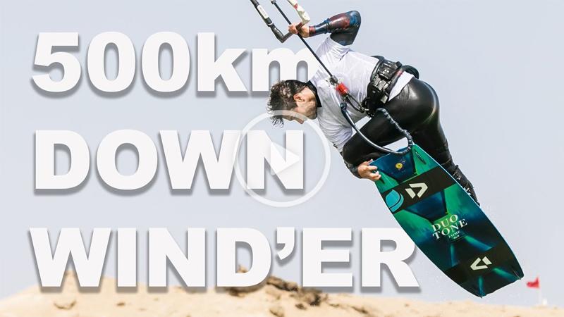 Tom Court - 500KM KITE SURFING IN THE DESERT